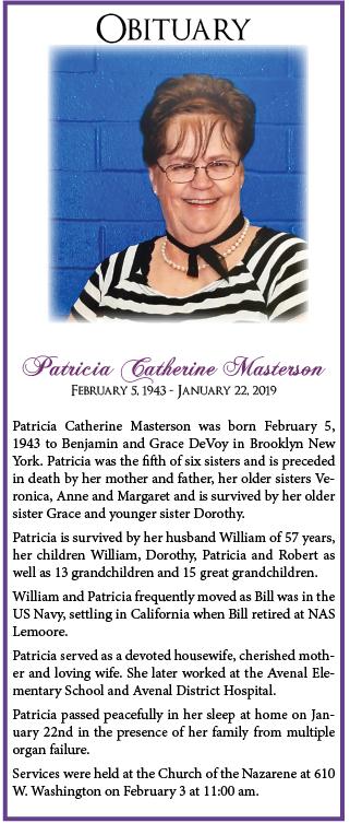 PatriciaMastersonObit